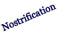 Nostrification